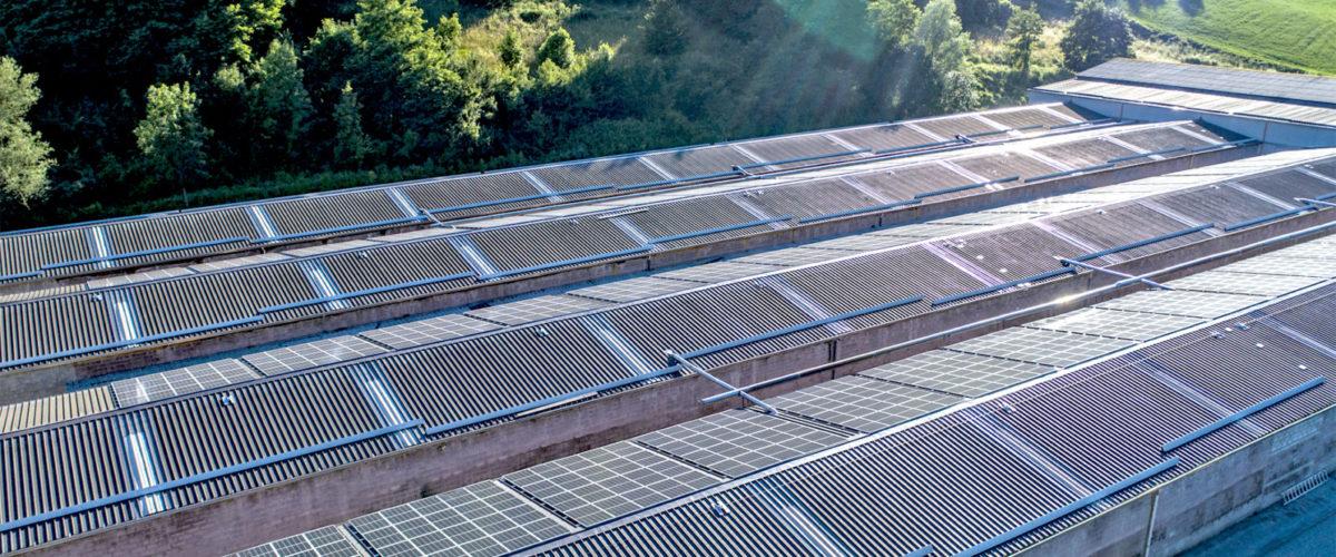 Ultimata Installazione Dell'impianto Fotovoltaico Presso Agrofertil